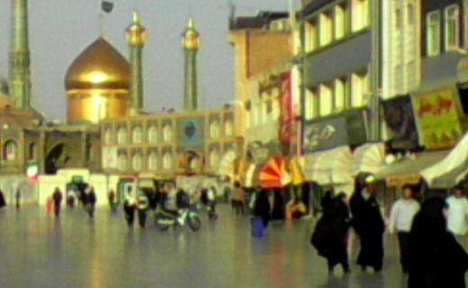 جلوه ای زیبا از حرم حضرت معصومه(س) + فیلم