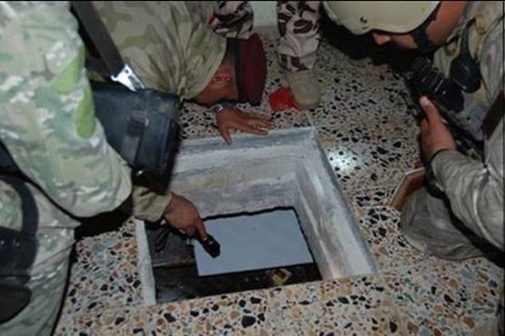 مخفیگاه همسران داعش + عکس