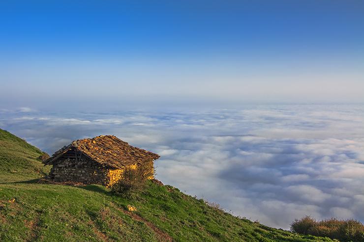 مازیچال؛دهکدهای رؤیایی بر فراز ابرها