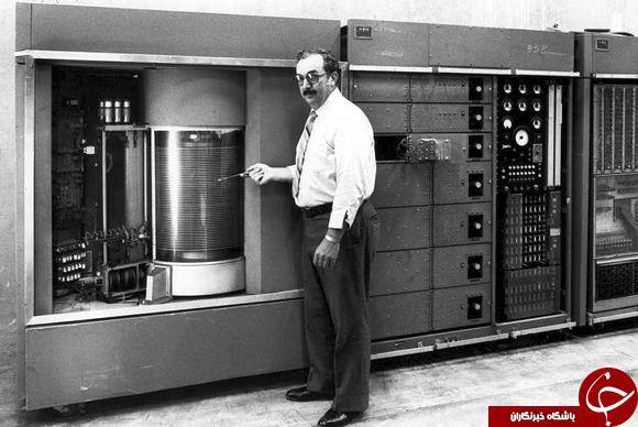 تصویری جالب از اولین هارد دیسک تجاری در سال 1956