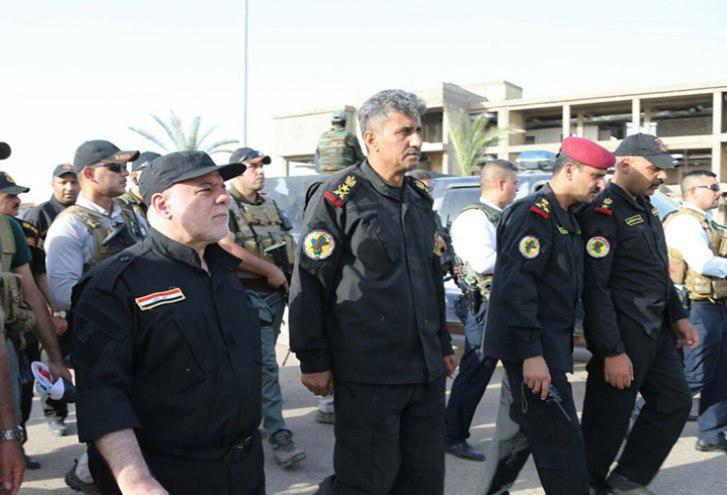 حیدر عبادی به طور رسمی در موصل اعلام پیروزی کرد