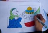 باشگاه خبرنگاران - راه اندازی ایستگاه نقاشی در مسیر راهپیمایی روز جهانی قدس اراک