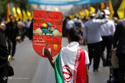 باشگاه خبرنگاران -راهپیمایی روز جهانی قدس در مشهد