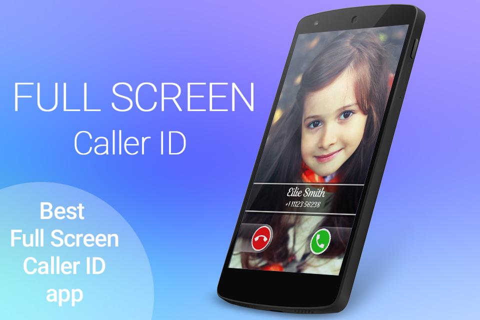 دانلود 12.4.2 Full Screen Caller ID برای اندروید ؛ نمایش تمام صفحه تصویر تماس گیرنده