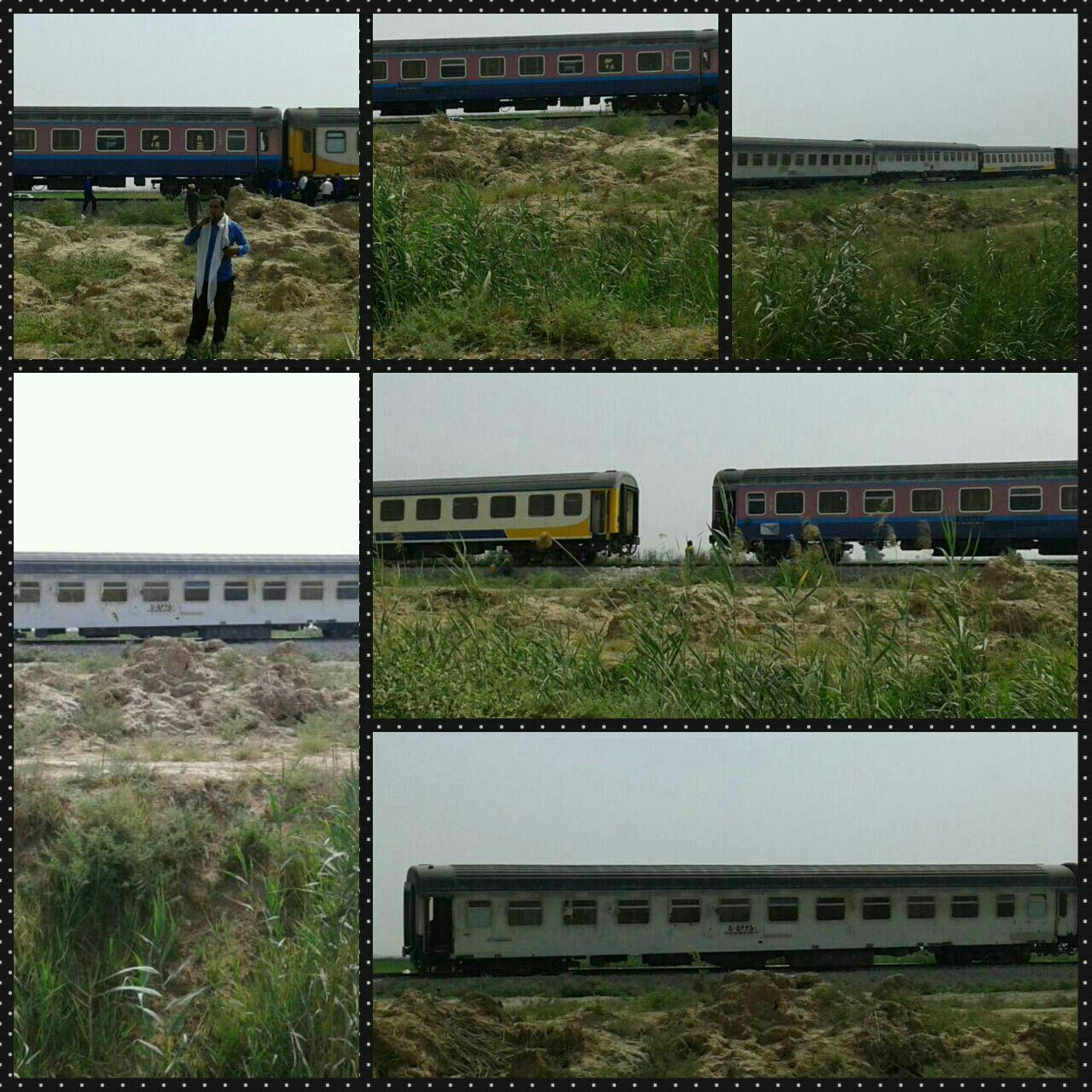 جزئیات خروج قطار مسافربری خرمشهر-تهران از ریل