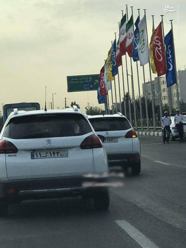 پژو 2008 در خیابان های تهران!+عکس