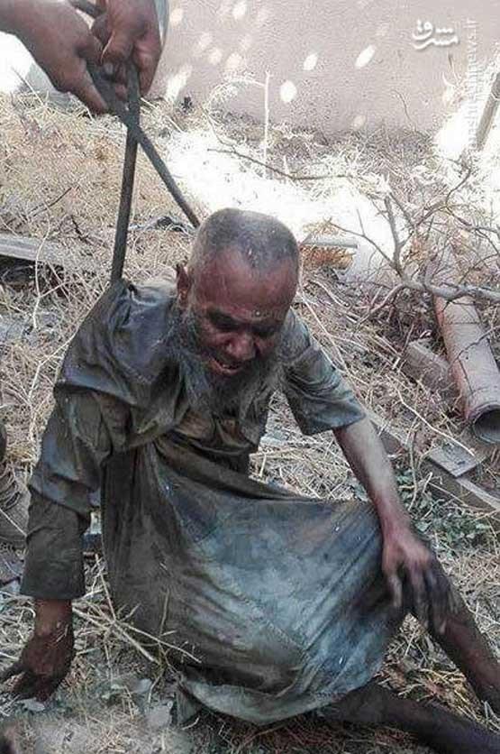 تروریست داعش در فاضلاب پنهان شده بود+ عکس