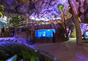 بزرگترین غار آکواریوم ایران در همدان پذیرای گردشگران است