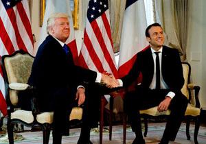 روزنامه روسی: مکرون درباره تحریمهای ایران با ترامپ در پاریس گفتگو میکند.