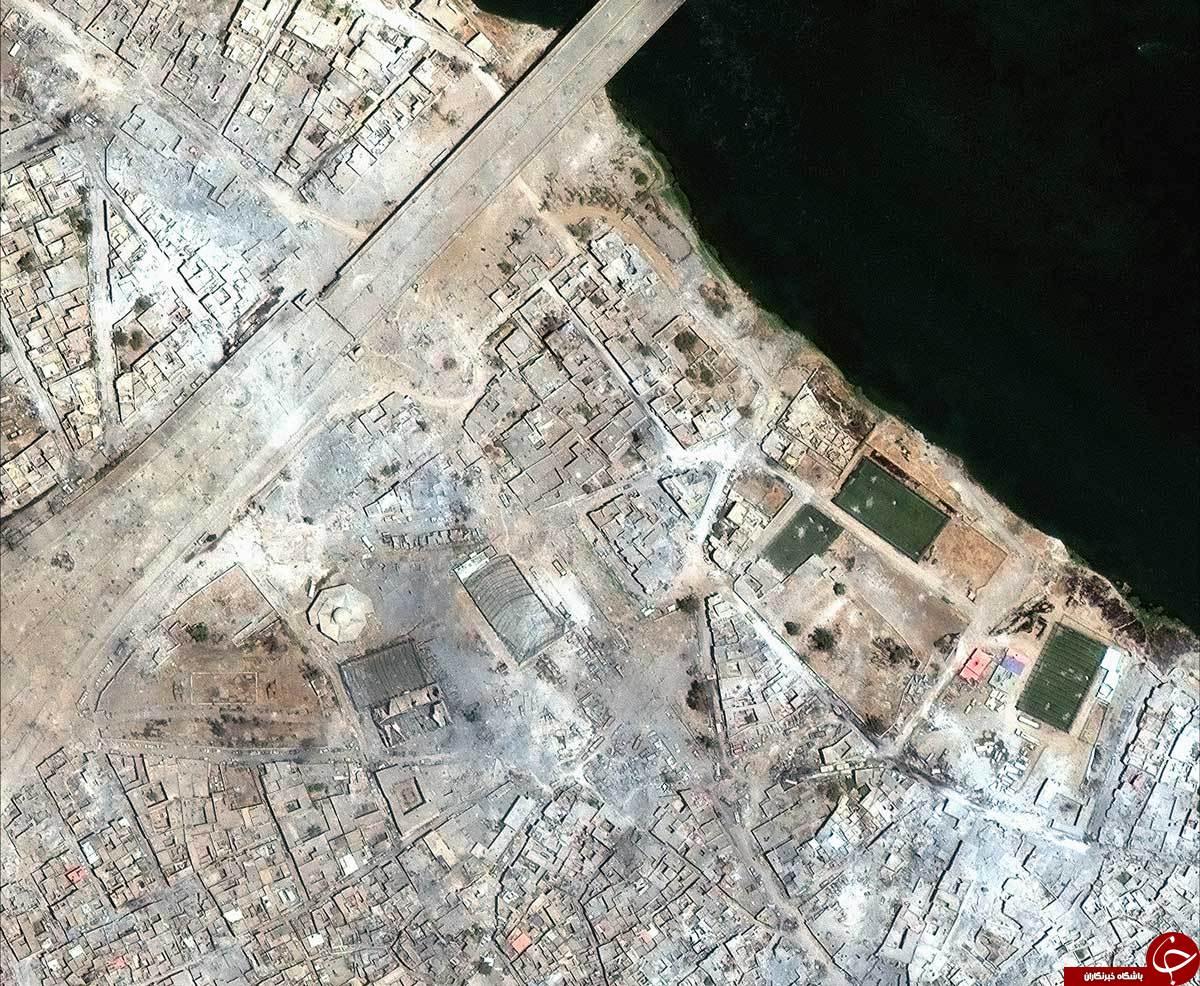موصل، قبل و بعد از سلطه داعش+تصاویر