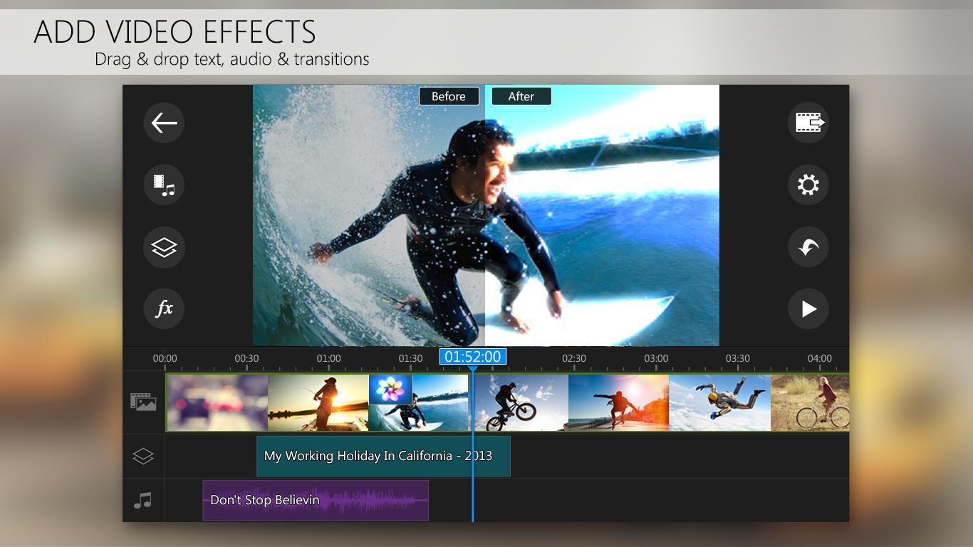 دانلود CyberLink PowerDirector 5.0.0 – قدرتمندترین ویرایشگر ویدئو اندروید