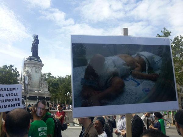 اعلام انزجار فرانسویان از سفر نتانیاهو به پاریس + تصاویر
