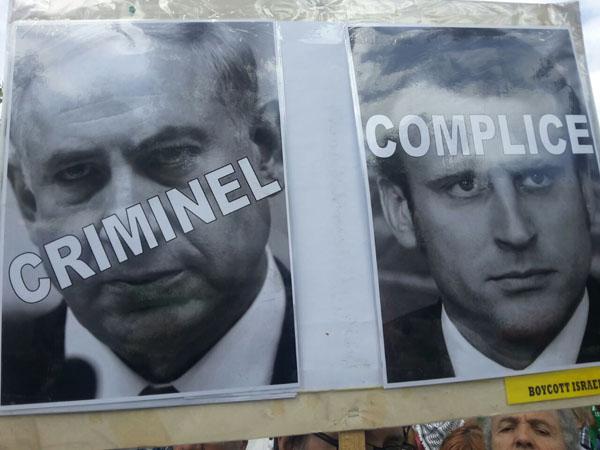 اعلام انزجار فرانسویان از سفر نتانیاهو به پاریس