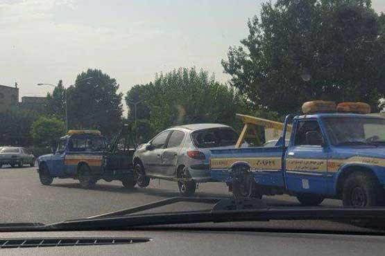صحنهای عجیب در خیابان های تهران! +عکس