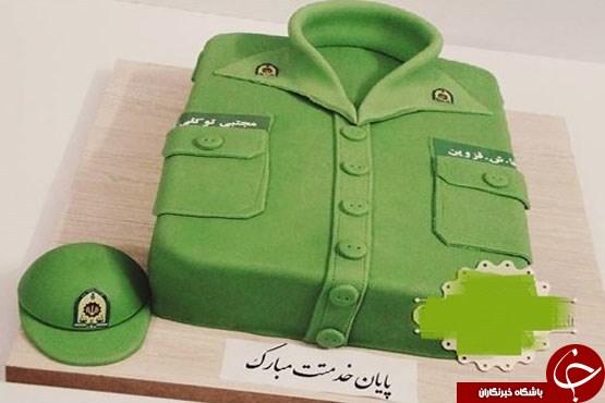 کیک پایان خدمت سربازی هم از راه رسید +عکس