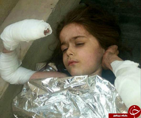 دختر بچه داعشی مدیون عراقیها شد+عکس