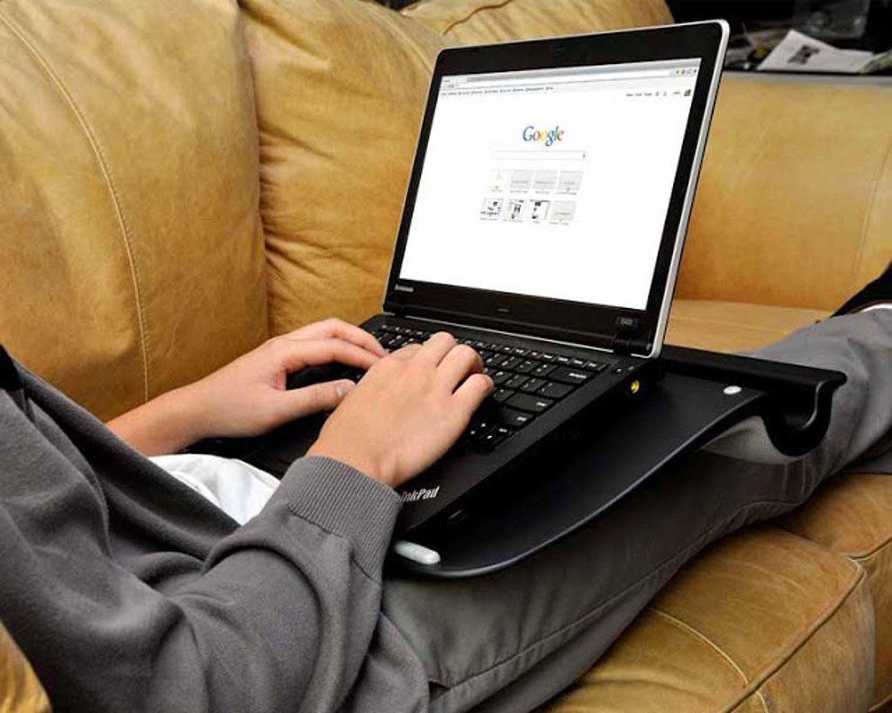 تاثیرات گرمایی امواج لپ تاپ بر روی پا+ تصویر