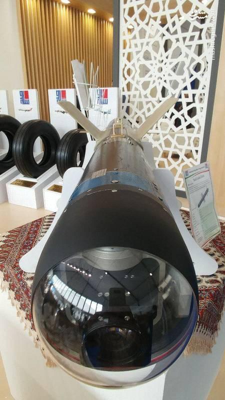 رونمایی جهانی از اولین موشک ضدپهپاد ایرانی/ کابوس داعشیها هم به ماکس 2017 رفت +عکس