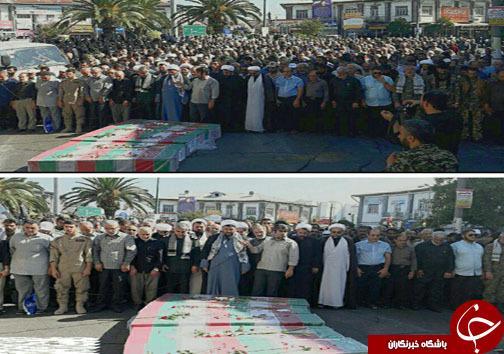 تشییع و خاکسپاری شهدای دوران دفاع مقدس در استان های کشور