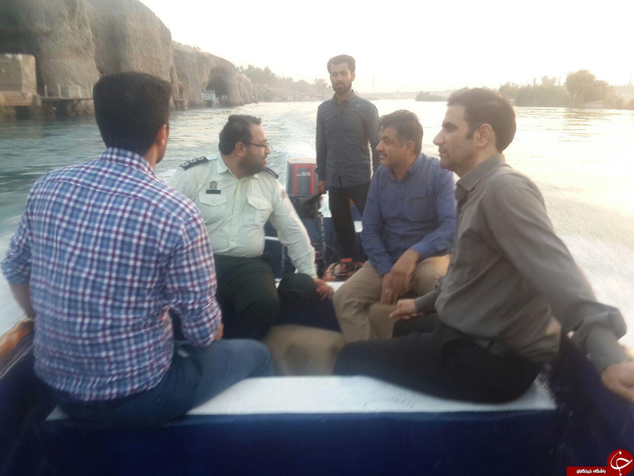 تور گردشگران در تور رودخانه دز