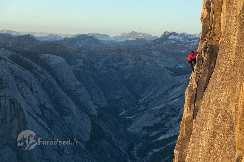 خطرناکترین صعود تاریخ بدون طناب! +تصاویر