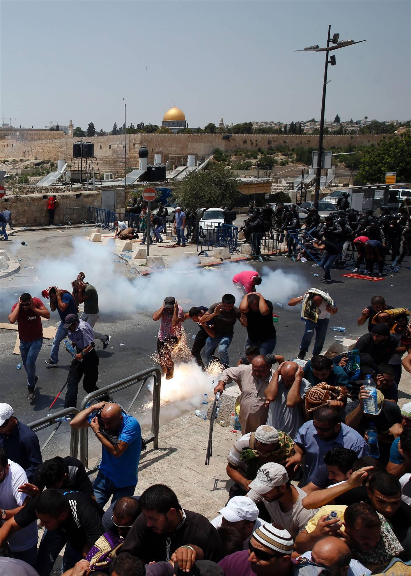 مجروح شدن 193 فلسطینی در جمعه خشم