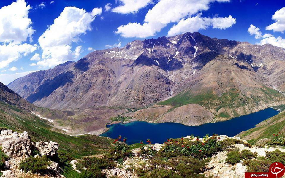 تصاویر زیبا از دریاچه گَهَر در استان کهکلویه و بویراحمد