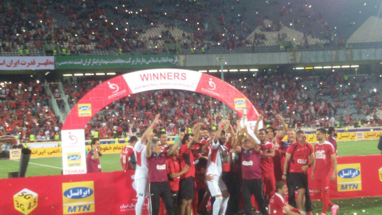 پرسپولیس جام قهرمانی سوپر جام را بالای سر برد