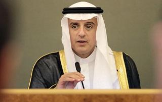 دستپاچگی وزیر امور خارجه عربستان پیش از تکرار ادعاهای همیشگی علیه ایران +فیلم