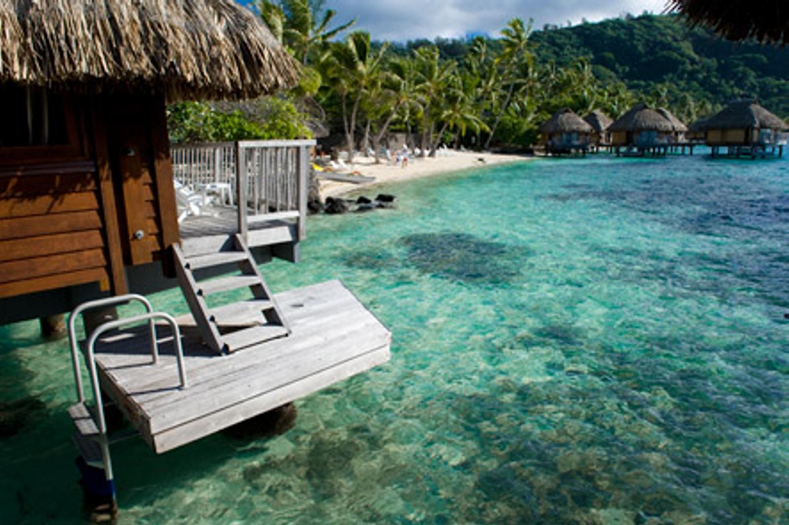 جزیره بورا بورا ، زیباترین جزیره دنیا