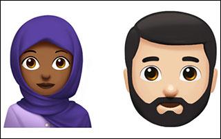 ایموجی های جدید از طرف شرکت اپل + عکس