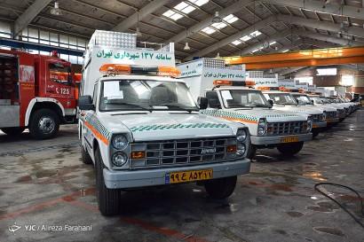 باشگاه خبرنگاران -رونمایی از خط تولید خودروهای اجرایی سامانه 137 شهرداری