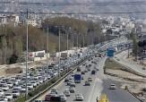 باشگاه خبرنگاران - ترافیک نیمه سنگین در آزاد راه کرج - قزوین