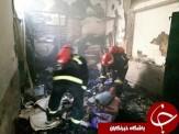 باشگاه خبرنگاران -آتش سوزی در منزل مسکونی در اراک/ آتش مهار شد + تصاویر