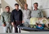 باشگاه خبرنگاران -دستگیری شکارچی متخلف توسط یگان حفاظت محیط زیست سرپل ذهاب