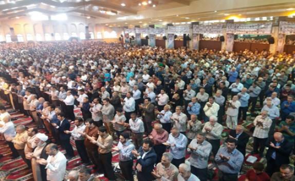 باشگاه خبرنگاران - اقامه نماز عید فطر در مازندران + تصاویر