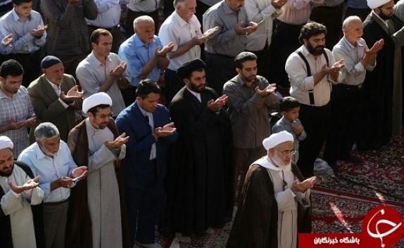 باشگاه خبرنگاران - اقامه نماز عید بندگی