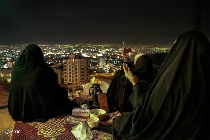 باشگاه خبرنگاران -مراسم وداع با ماه مبارک رمضان در کهف الشهدا