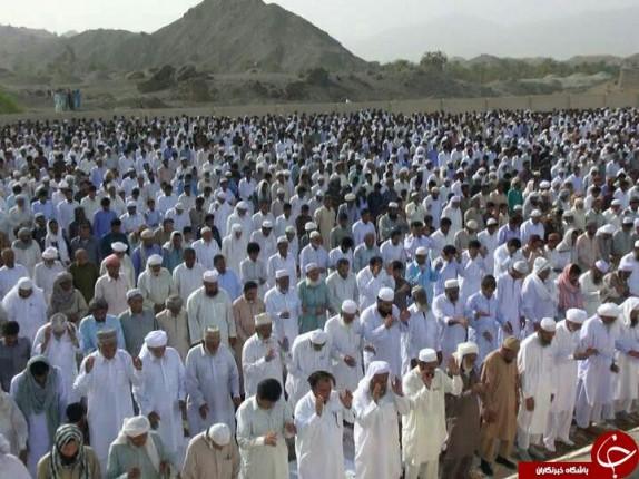 باشگاه خبرنگاران -اقامه نماز عید فطر در سیستان و بلوچستان +تصاویر