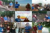 باشگاه خبرنگاران - گردشگران فرانسوی در ساری