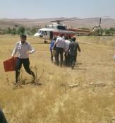 باشگاه خبرنگاران -اعزام بالگرد اورژانس زنجان برای نجات مصدومان تصادف مسیر زمایین -انگوران