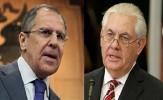 گفتگوی تلفنی وزرای خارجه روسیه و آمریکا درباره بحران سوریه
