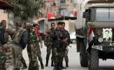 پیشروی نیروهای سوری در غوطه شرقی دمشق