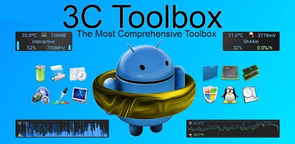دانلود 3C Toolbox Pro 1.9.7.6.1 ؛ جعبهابزار همهکاره اندروید