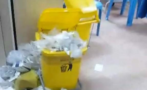 باشگاه خبرنگاران -وضعیت زننده بخش تزریقات در بیمارستان کهنوج + فیلم