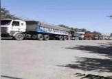 باشگاه خبرنگاران -صف طولانی کامیونهای حامل گندم در سیلوی گندم کرج + فیلم