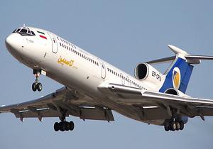 پرواز تهران شيراز در اصفهان فرود آمد