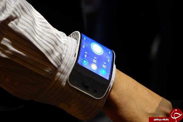 گوشی هوشمند انعطاف پذیر از شرکت لنوو
