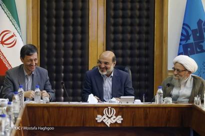 باشگاه خبرنگاران -جلسه شورای عالی زکات با حضور رئیس رسانه ملی