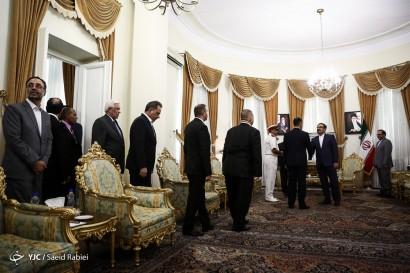 باشگاه خبرنگاران -دیدار دبیر شورای عالی امنیت ملی با وزیر دفاع عراق